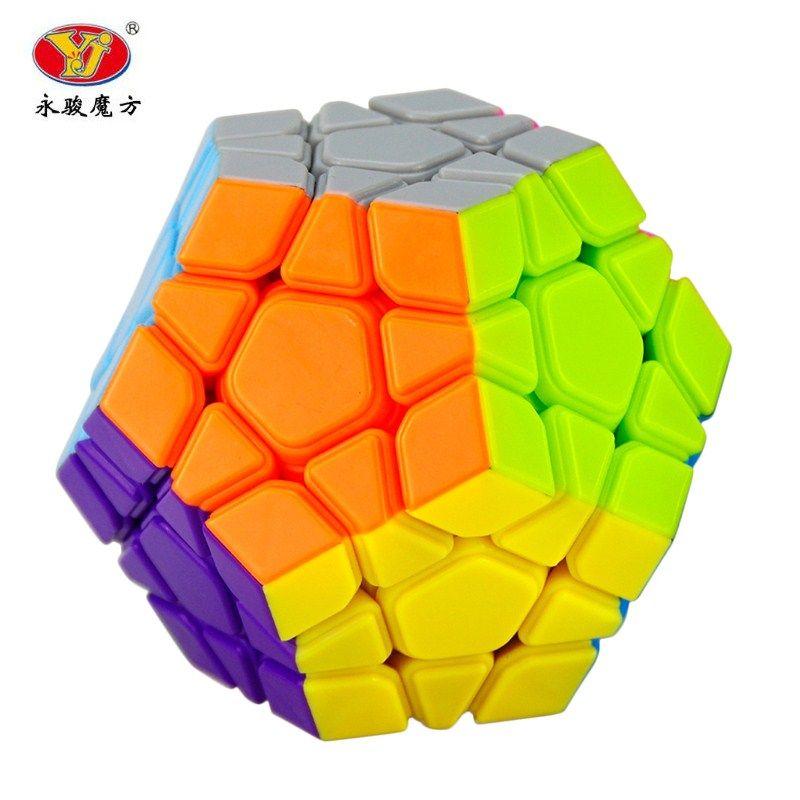 YJ Yongjun Moyu Yuhu Megaminx Magic Cube Скорость Логические кубики дети Игрушечные лошадки развивающие игрушки
