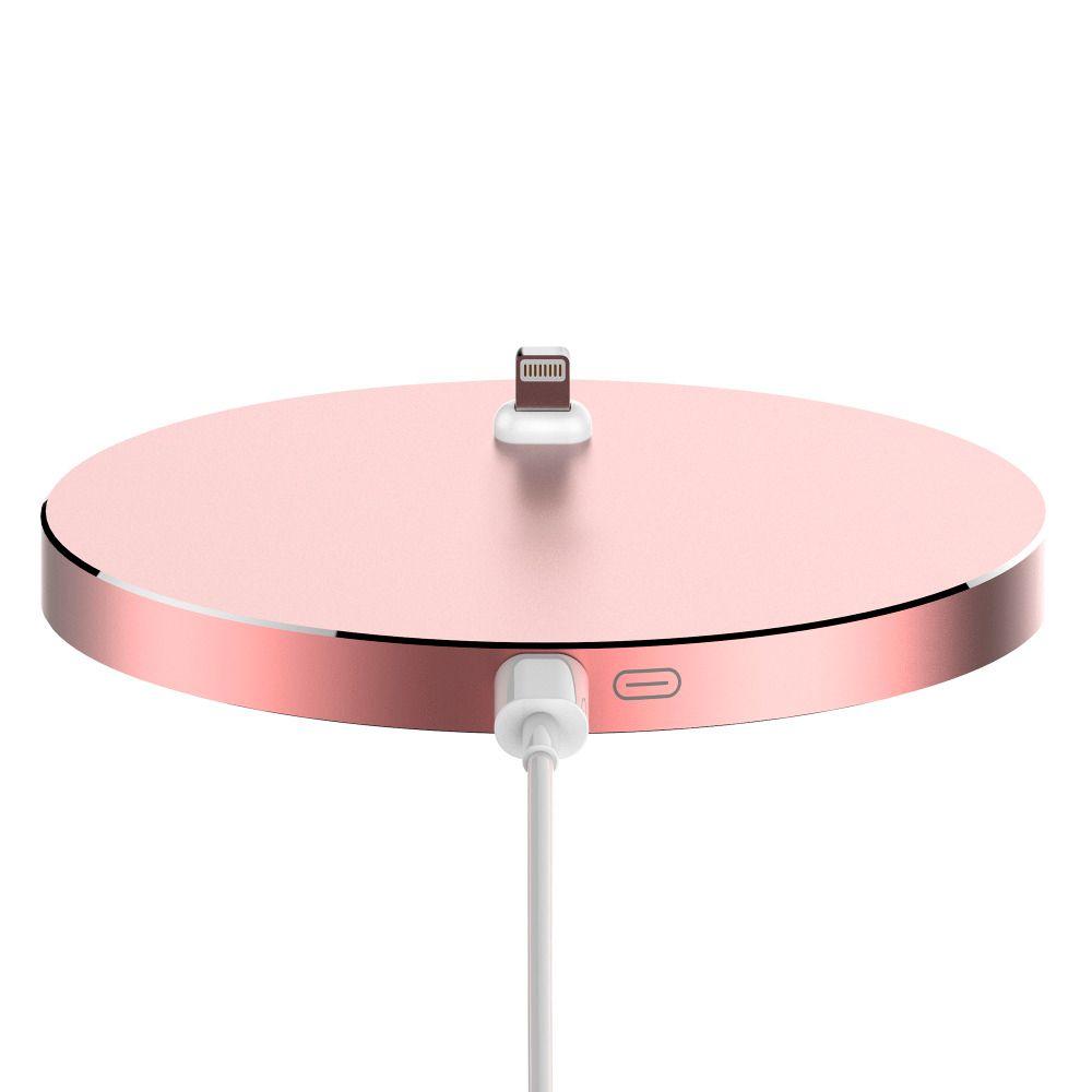 8 Pin Aluminum Metal Dock Charging Station Cradle Charger For iPhone 7 Plus 5 5S SE 6 6S Plus Data Sync Desktop Docking Bracket