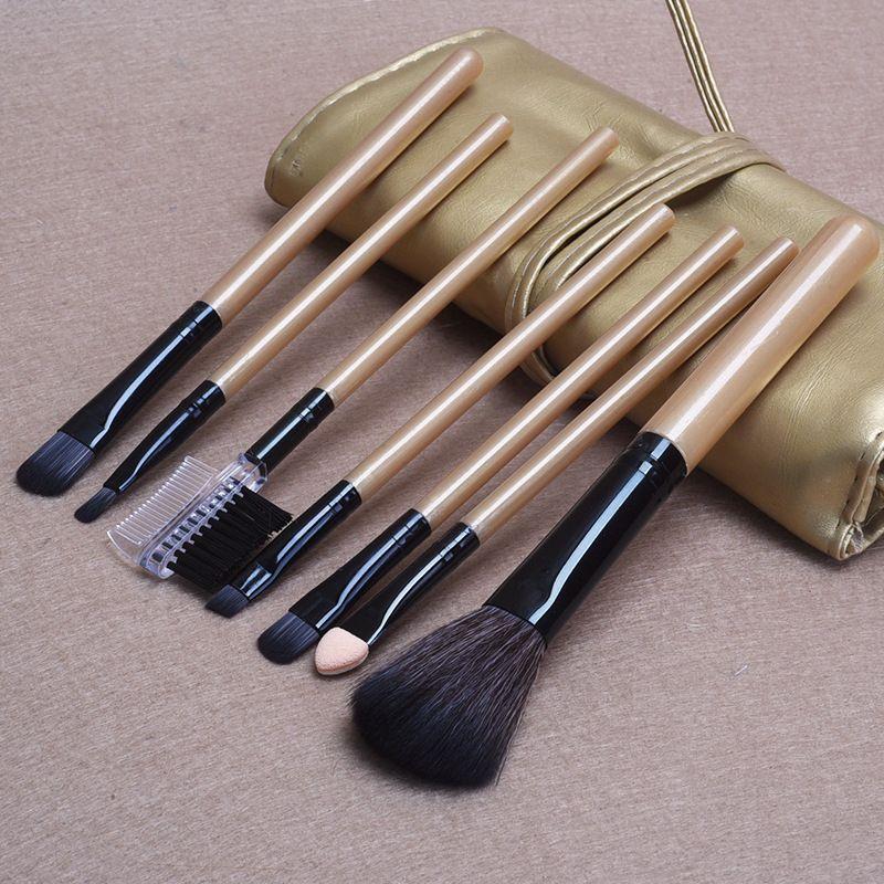 New 7 Pcs Makeup Brushes for Women Make Up Brush Cosmetic Makeup Tools