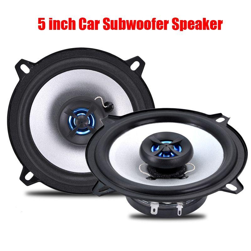 one pair 5 inch car speaker loudspeaker for automotive sound car HIFI subwoofer Car-styling LB - PS1502T car loud speakers