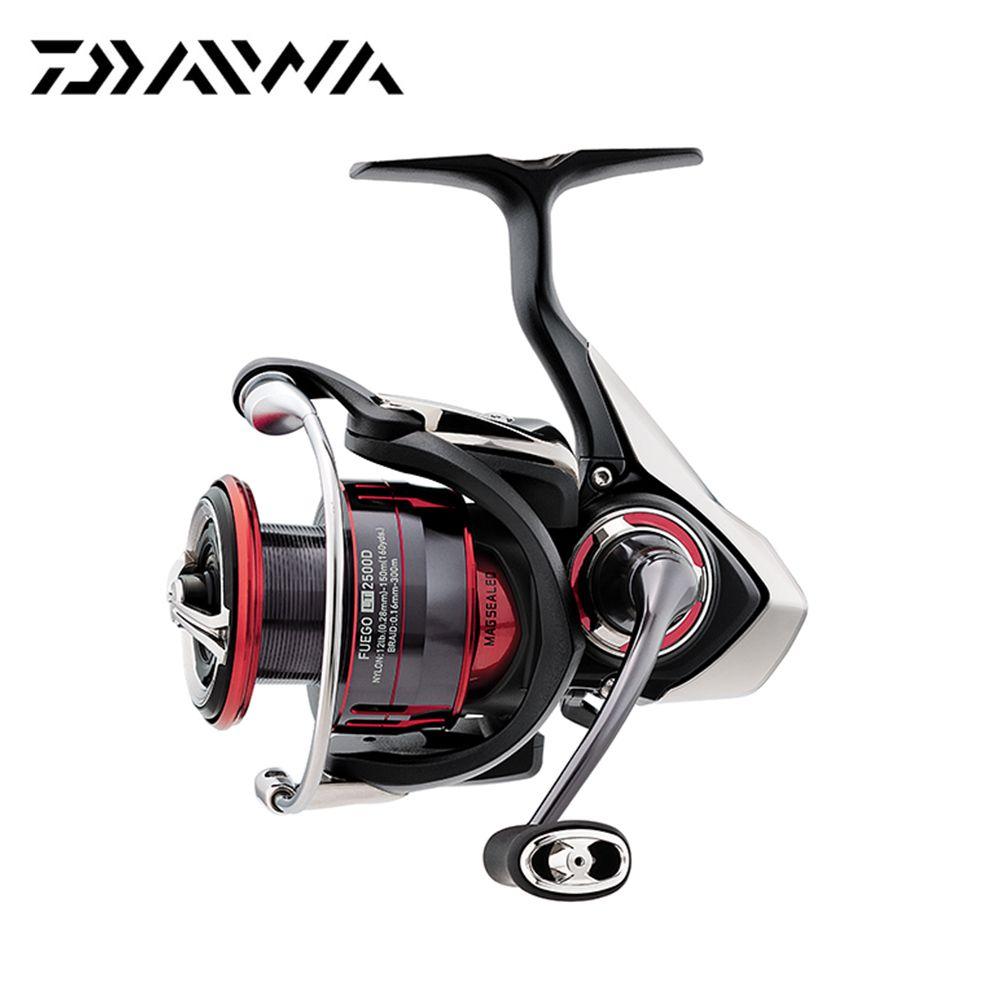 2018 New Daiwa FUEGO LT Spinning Reel 6.2/ 5.2 Gear Ratio 6+1 Ball Bearings 1000-6000 Series Carbon Light Air Rotor Fishing Reel