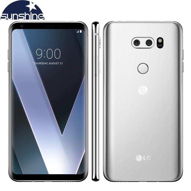 Original Entsperrt LG V30 H931 4g LTE handy 6,0 ''16 MP 4g RAM 64g ROM octa-core Fingerprint Smartphone