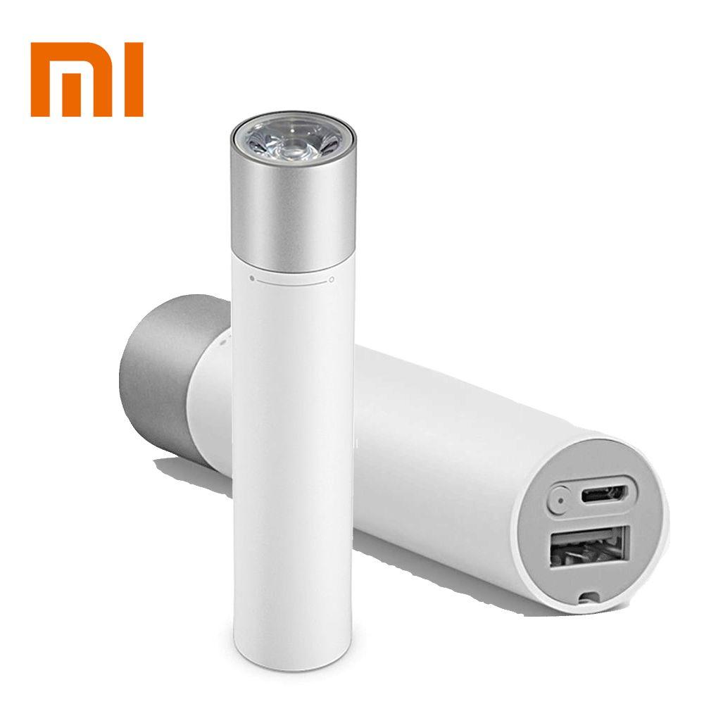 Original Xiaomi Tragbare 11 Einstellbar Leuchtdichte Mit Drehbare Lampe Kopf 3350 mah Lithium-Batterie USB Lade Port