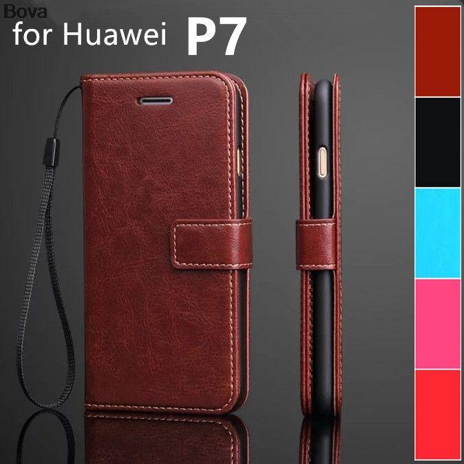 Fundas для huawei P7 держатель для карт чехол для huawei Ascend P7 Pu кожаный чехол wallet чехол флип чехол телефона телефон сумки