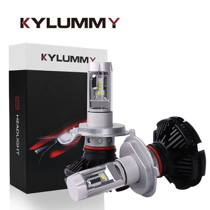 Car Headlight Bulbs LED H4 H7 H11 H1 H3 880 881 9004 9005 9006 H13 ZES LED Hi-Lo Beam DC12V 24V 50W Headlamp Front Fog Lights
