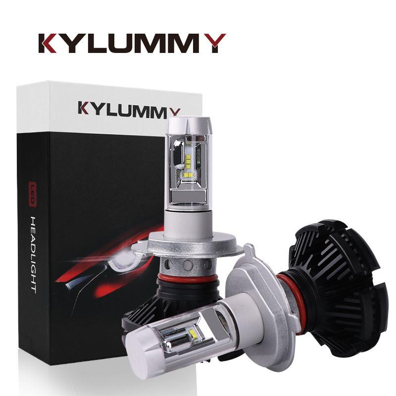 Headlight Bulbs LED H4 H7 H11 H1 H3 880 881 9005 9006 H13 ZES LED Hi-Lo Beam DC12V 24V 50W 12000Lm Car Headlamp Front Fog Lights