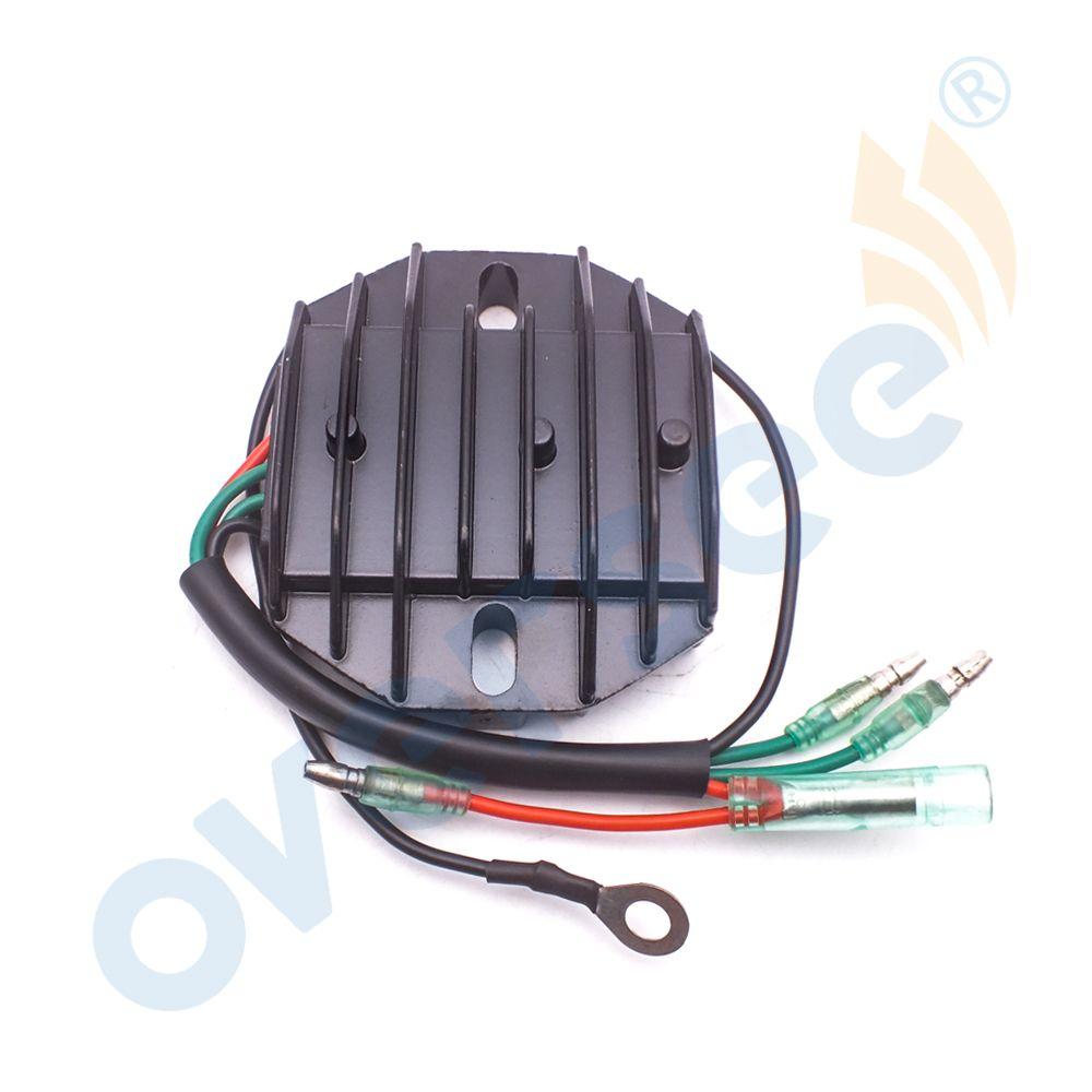 Надзор 6ah-81960-00-00 выпрямителя и регулятор для Yamaha 4-тактный 15hp 20hp F15 F20 подвесной Двигатели для автомобиля