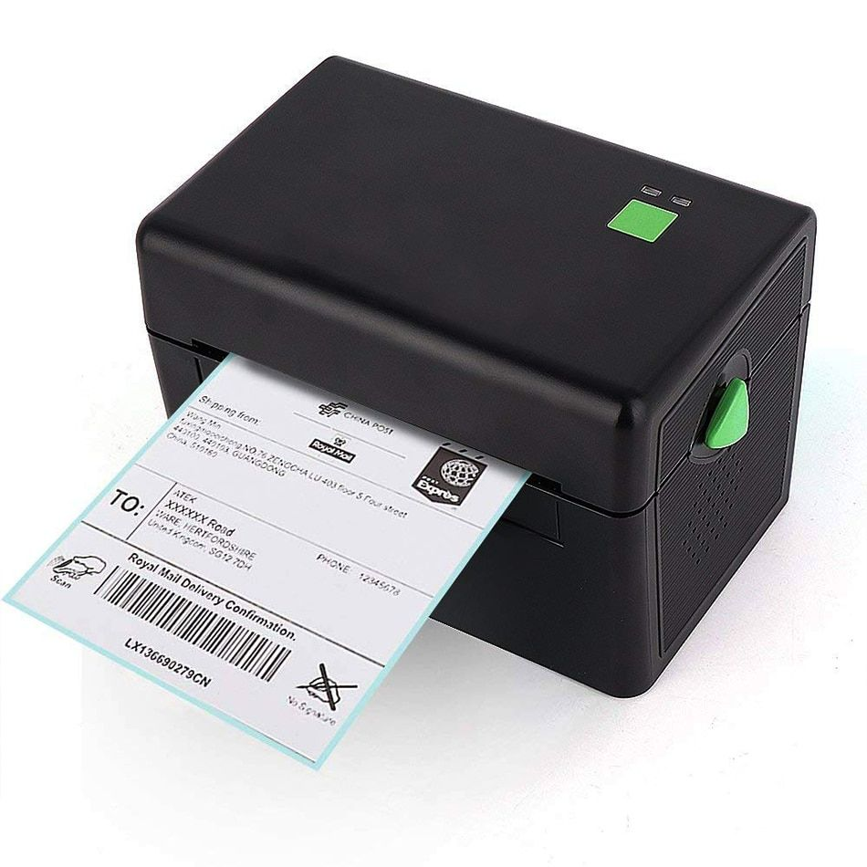 GZL4001 Pos High Quality 108mm 4 inch Thermal Label Barcode Printer USB Port For Delivery Logistics Waybill free software