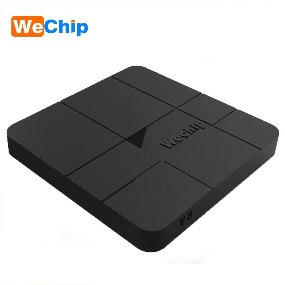Wechip V8 New Arrival Android 7.1.2 Tv Box With i8 Wireless Keyboard 1G/8G 2G/16G Quad-core Cortex-A53 HDMI 2.0 Hot Set Top Box