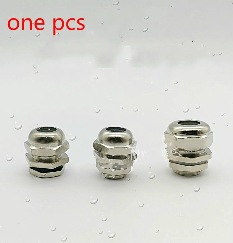 Thermowell nipple stainless steel thread M12X1.5 3-6/4-8/6-9mm Silicone seal.
