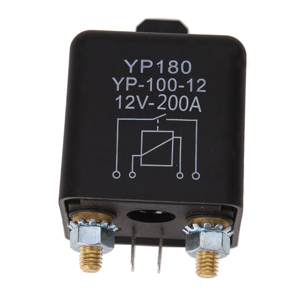 Car Truck Motor Automotive high current relay 12V 200/100A 2.4W Continuous type Automotive relay car relays