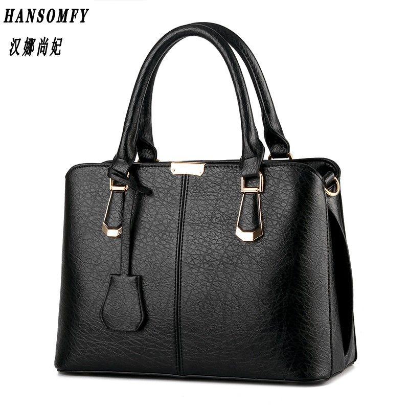 HNSF 100% Genuine leather Women handbag 2017 New Sweet fashion handbag Crossbody Shoulder Handbag women messenger bags