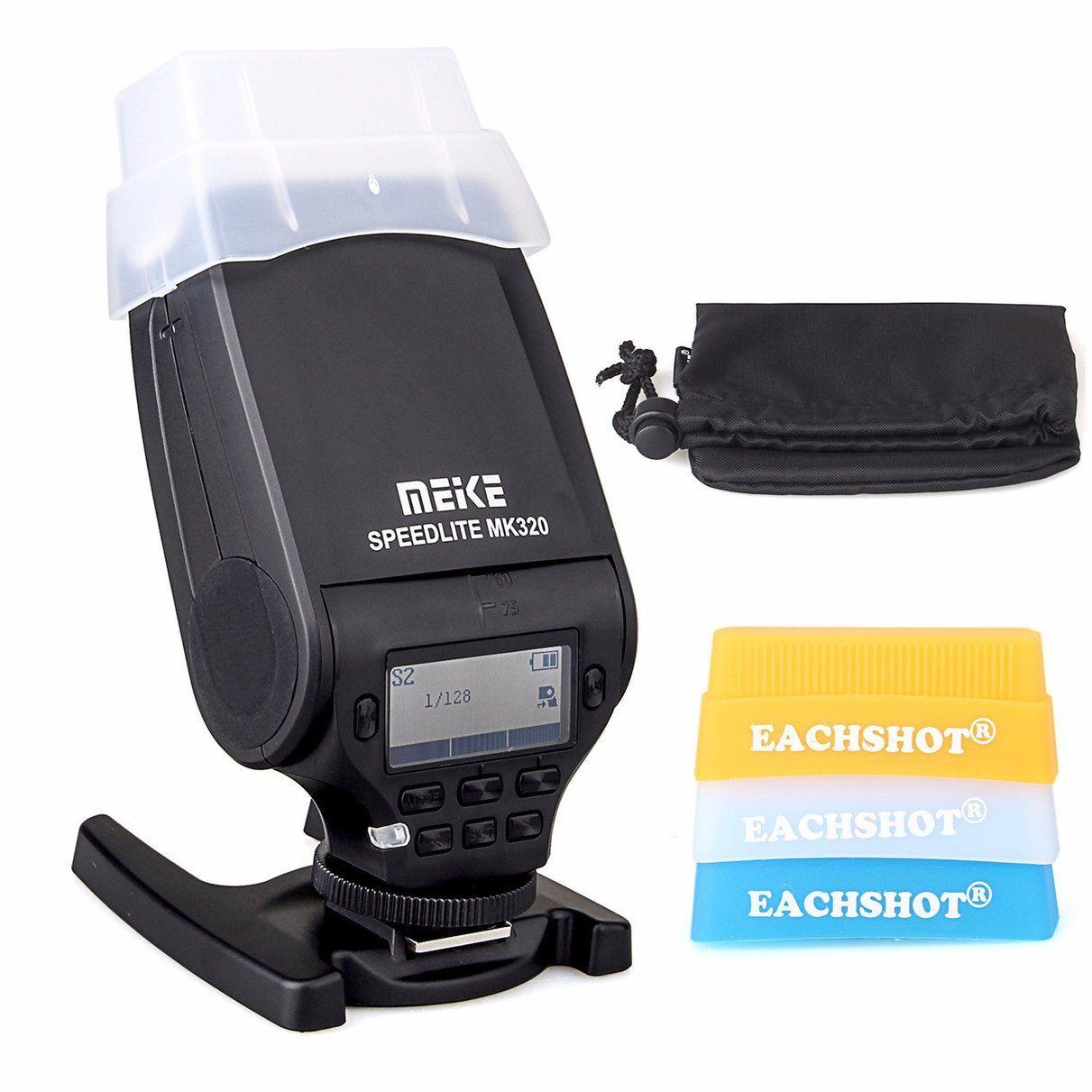 MEIKE MK-320 TTL Master HSS flash Speedlite for Canon EOS M M2 100D 5D II III 6D 7D 60D 70D 600D 7D mark II 700D 1100D T3i T2i