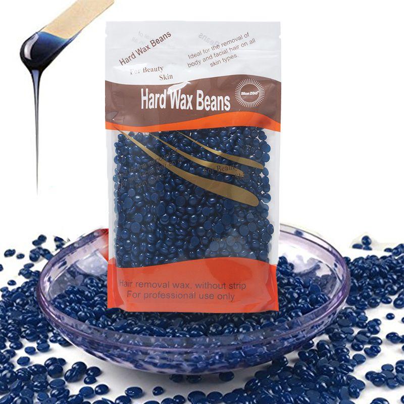 300g Chamomile Depilatory Pearl Hard Wax Beans Brazilian Granules Hot Film Wax Bead For Hair Removal Waxing Bikini