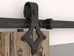 Dimon индивидуальные раздвижные двери оборудование деревянная раздвижная дверь оборудование колесико для подвесных систем Америка Стиль Ра...