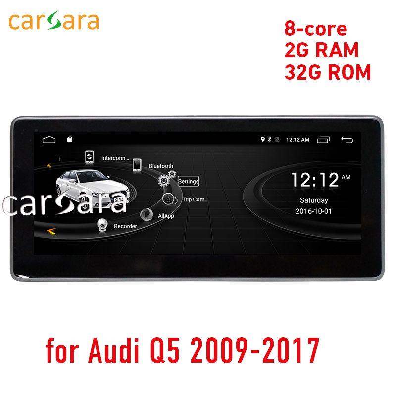 carsara 2G RAM Android display for Audi Q5 2009-2016 10.25