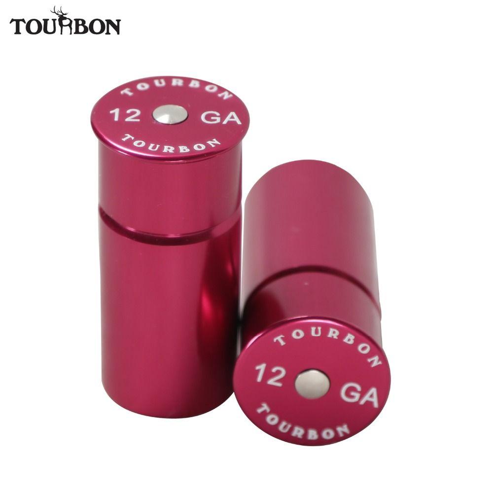 Tourbon chasse 12 calibre fusil de chasse Snap Caps munitions coquilles aluminium tactique formation réutilisable recyclé 2 pièces tir à sec