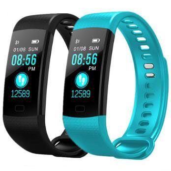 Y5 bande intelligente Bracelet intelligent fréquence cardiaque montre intelligente tracker Fitness Bracelet intelligent montre de Sport reloj smartwatch pour ios android