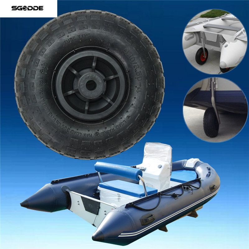 nEW Durable Inflatable Boat Transom Launching Wheel For Inflatable Dinghy Yacht Tender raft Rowing Boats Accessories