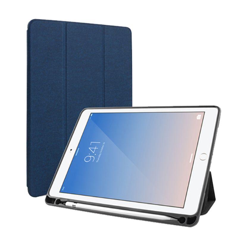 Mutural Fall für iPad 5/6/7/8 Fall TPU Leder Weiche Rückseitige Auto schlaf/Weckservice Intelligente Abdeckung Für IPad 5/6/7/8 Solide 9,7 Zoll Fall