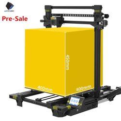 ANYCUBIC Chiron 3d Imprimante Plus taille TFT Auto-nivellement Titan Extrudeuse Double Z Axisolor kit impressora kit imprimante gadget