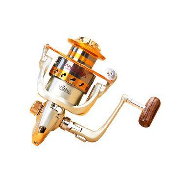 2018 Новый EF500-9000 серии алюминиевые рыболовные катушки 12BB шариковые Подшипники Тип катушка анти морской коррозии ролик рыбалка