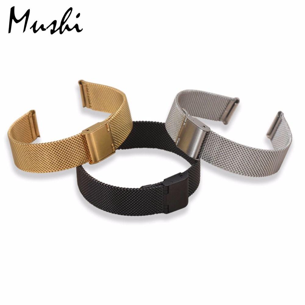 Bracelet en acier milanais pour Bracelet DW Bracelet en acier inoxydable argenté pour Bracelet DW (Daniel Wellington) 36 40mm le Bracelet à cadran