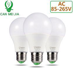 High Brightness LED Bulb Light E27 220V 110V Lamp Bulbs 3W 5W 7W 9W 12W 15W 18W Home Ampoule Led Bombillas Cold Warm White