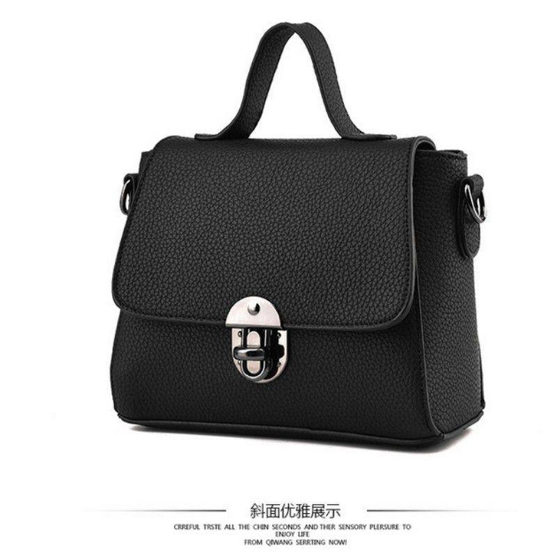 HNSF 100% Véritable cuir Femmes sacs à main 2017 Nouveau sac à main en cuir verni stéréotypes sac à main de mode sacs à main Épaule Messenger