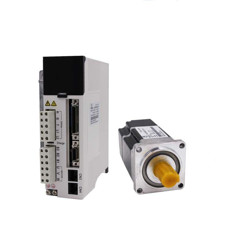 400 watt servo motor 60mm NEMA24 1.27Nm billig servomotor fahrer kit mit encoder und 3 mt kabel JASD4002-20B + 60JASM504230K-M23B-T