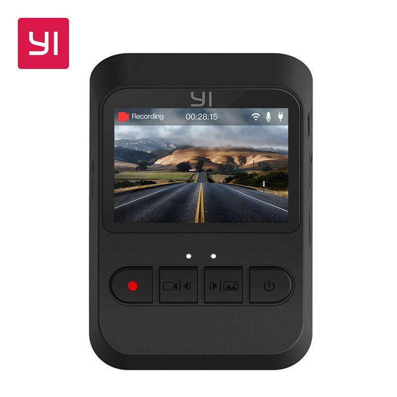 YI Mini Dash Cam 1080 p FHD Tableau de Bord Enregistreur Vidéo Wi-Fi Voiture Caméra avec 140 Degrés Objectif grand-angle nuit Vision G-Capteur
