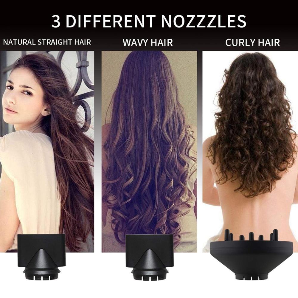 3 in1 Salon sèche-cheveux Stylers grande puissance cheveux réparation sèche-cheveux Ion ventilateur à température constante ventilateur séchage rapide des cheveux