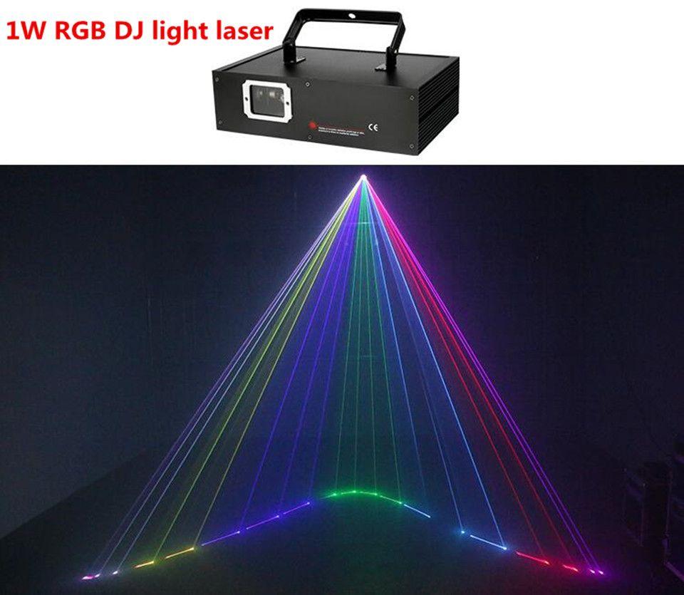 1000mw rgb Full color animation projector 1w DJ light laser rgb laser dj lights dmx beam light multi color