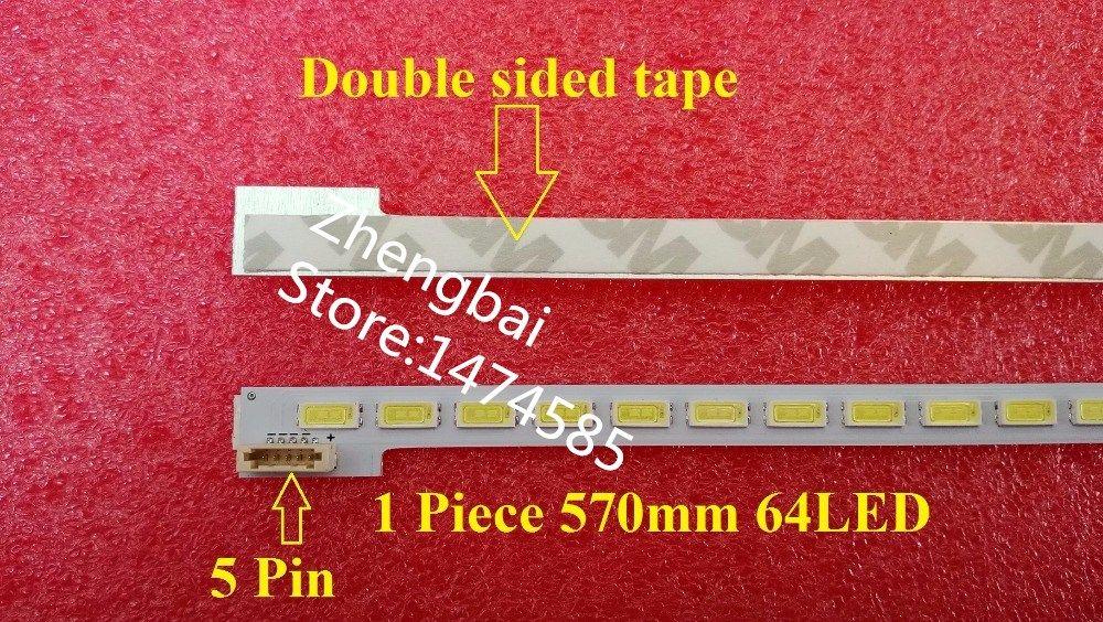 LJ64-03495A LTA460HN05 46EL300C 46HL150C LED strip SLED 2012SGS46 7030L 64 REV1.0 1 Piece=64LED 570MM
