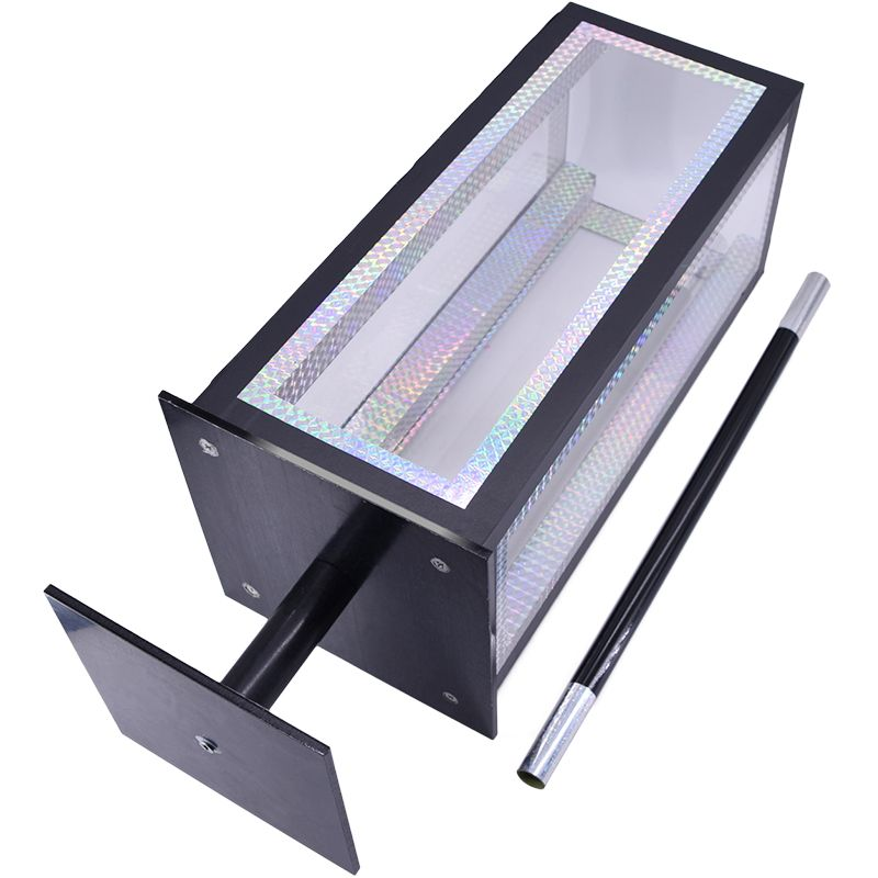 Crystal Botania Clarity Box to Flower Magic Tricks For Professional Magician Stage Appearing Flower Bush Illusion Mentalism Fun
