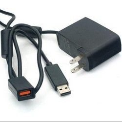 USB AC Adapter Power Supply Cord for Xbox 360 Kinect Sensor Converter Cable