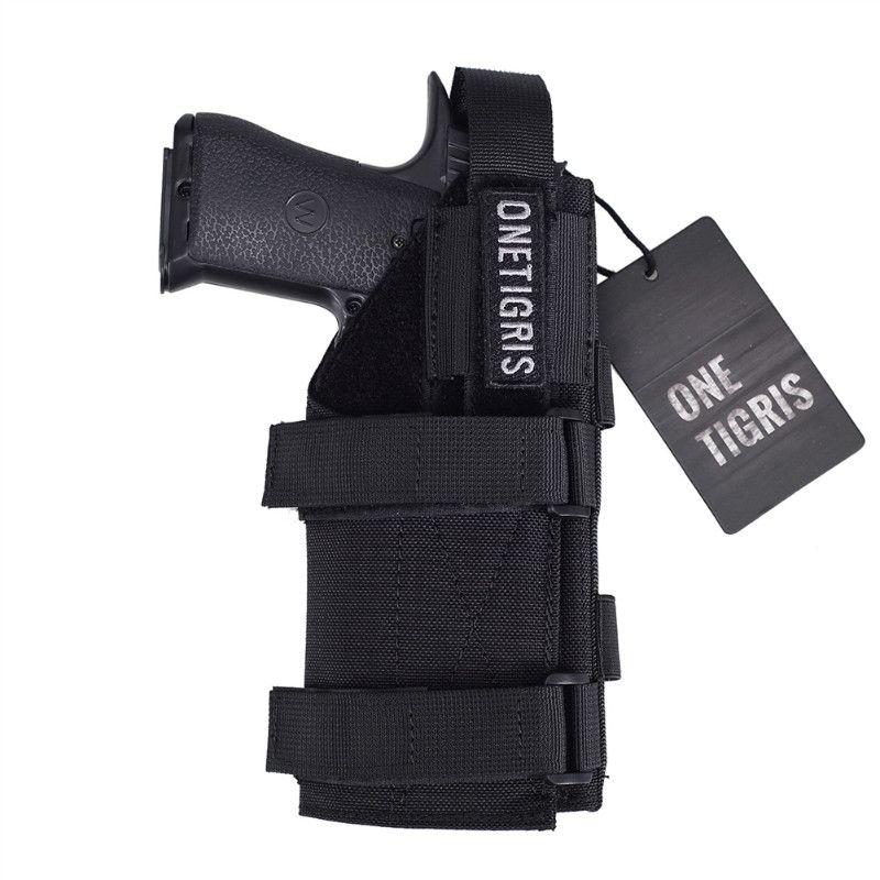 OneTigris étui pistolet tactique Molle ceinture modulaire étui pistolet pour tireurs droitiers Glock 17 19 22 23 31 32 34 35