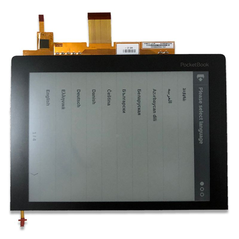 Original New 8 inches With touch screen backlight HD Eink Screen for pocketbook 840 eBook Reader LCD Display