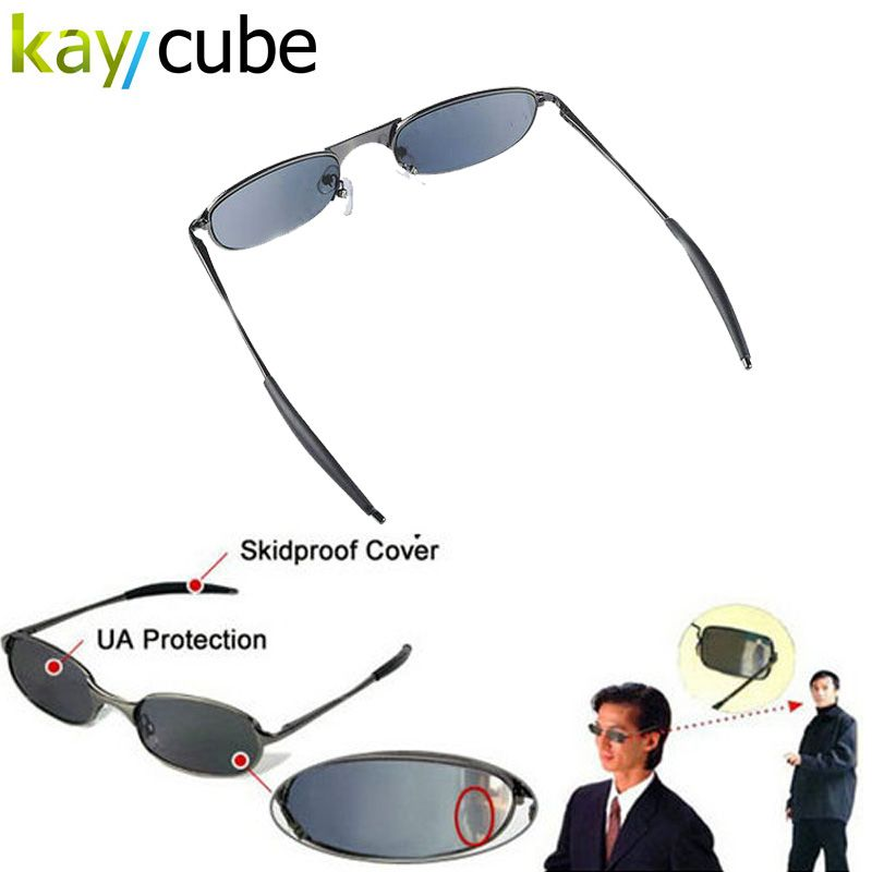 High-tech Anti-tracking Sunglasses Rear view Rear View Sun glass Behind Monitor Mirror Anti-Track Glasses Eye wear UV Protection