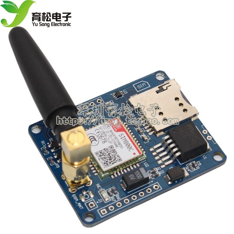 SIM800C Development Board Quadband GSM/GPRS Module Support Bluetooth/TTS/DTMF Replace SIM900A