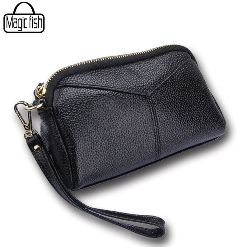 Genuine Leather Bag Women Clutches Casual Female Tote Women Bags Versatile Women Messenger Bags Mini Cross Body Bags A263/l