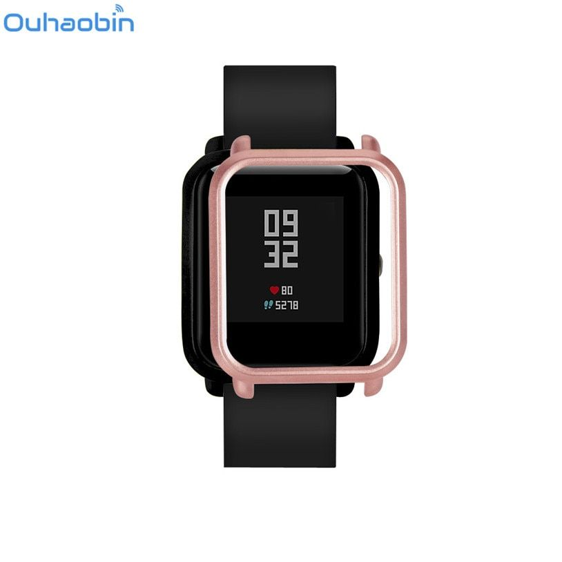 Ouhaobin Slim Colorful Frame PC Case Cover Protect Shell For Huami Amazfit Bip Younth Watch Gift Jan 31 Drop Ship