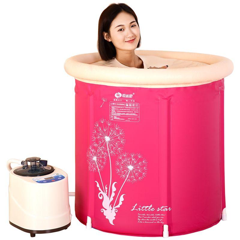 Dampf Box Haut SPA Portable Dampfsauna Zelt Dampfer Dünne Gewichtsverlust Innen Gesundheit Pflege Whirlpools & Sauna Zimmer 220 V