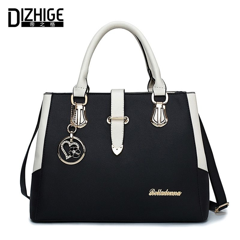 DIZHIGE Brand Luxury Handbags Women Bags Designer Shoulder Bag Women High Quality PU Leather Ladies Hand Bags New Sac Femme 2018