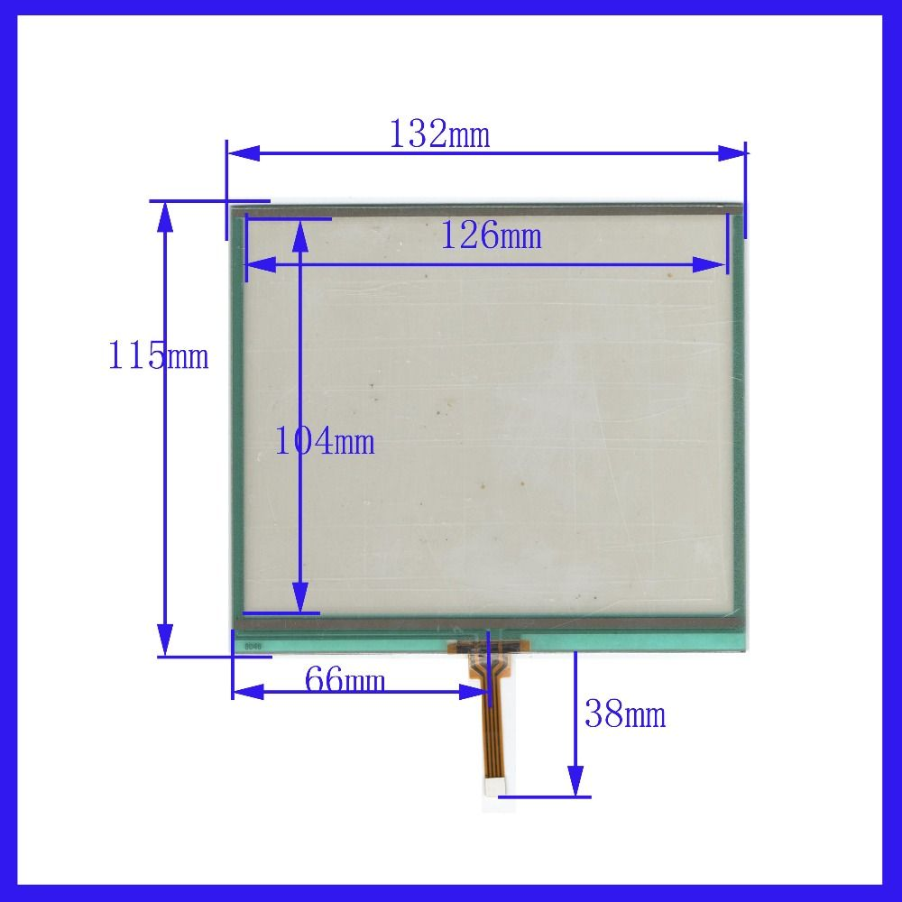 ZhiYuSun NEW 6.2 inch 132mm*115mm Touch Screen 4 wire resistive USB touch panel overlay kit   132*115 TOUCH SCREEN