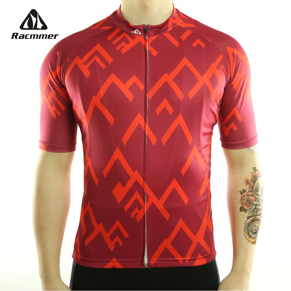 Racmmer 2018 Quick Dry Cycling Jersey Summer Men Mtb Bicycle Short Clothing Ropa <font><b>Bicicleta</b></font> Maillot Ciclismo Bike Clothes #DX-12