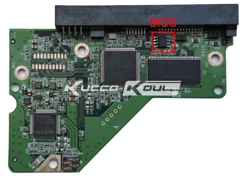 Carte mère HDD 2060-771698-002 REV A/P1/P2 pour disque dur WD 3.5 SATA récupération des données de réparation