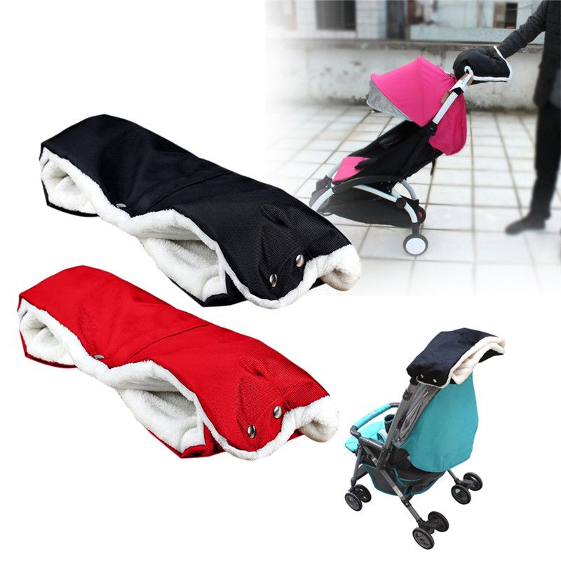 Baby Stroller Cart Gloves Pushchair Hand Muff Pram Baby Buggy Clutch Cart Muff Winter Glove Stroller Accessories