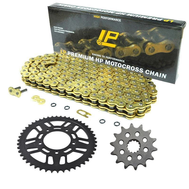 LOPOR MOTORCYCLE 525 CHAIN Front & Rear SPROCKET Kit Set FOR Honda  CB400,CB500R/S/T/V/W/X/Y/1/2/3,CB500S-W,X,Y,1,2