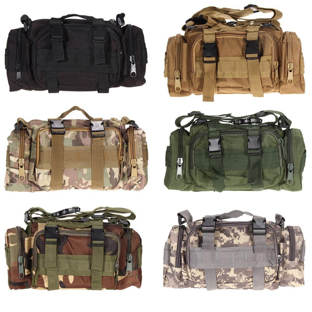 3L/6L Outdoor Military Tactical Waist Bag Waterproof Nylon Camping Hiking <font><b>Backpack</b></font> Pouch Hand Bag military bolsa Style mochila